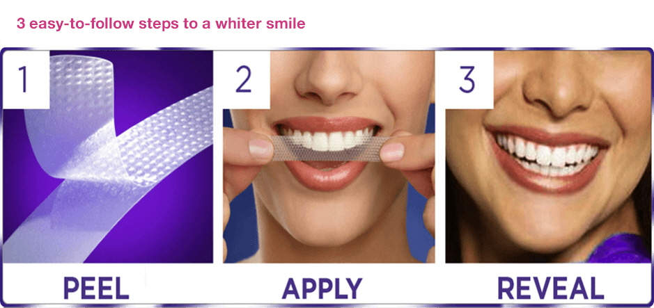 white strips instruction